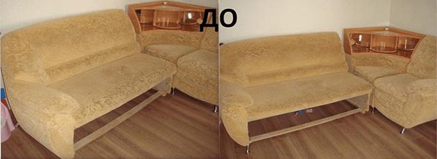 Ремонт диванов в Одессе