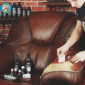 Ремонт мягкой мебели с натуральными материалами