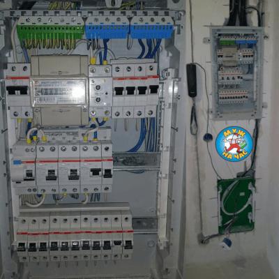 Установка автоматов в электрощитке