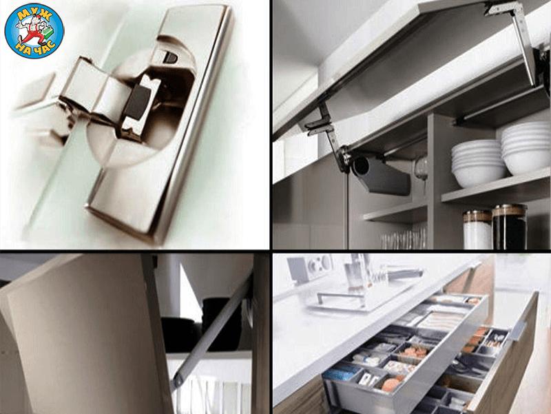 Замена мебельных петель