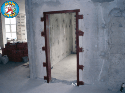 Вырезка дверного проема