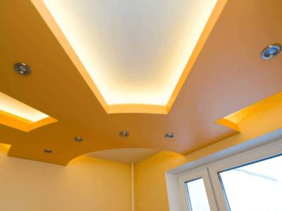 Монтаж гипсокартонных конструкций